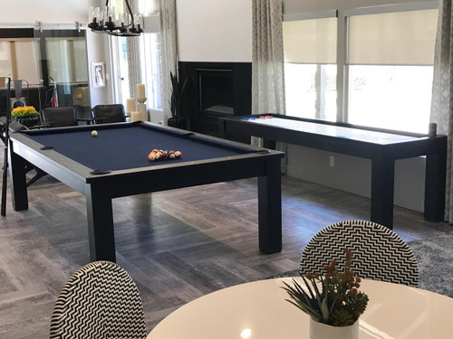 Eclipse Minimalist Pool Table - Full view
