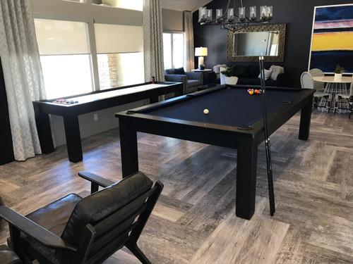 Eclipse Minimalist Pool Table - Full view 2