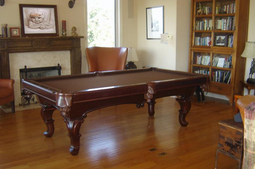 Antique Style Elise Victorian Pool Table Thumbnail View 1