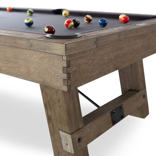 Isaac Pool Table From Plank and Hide