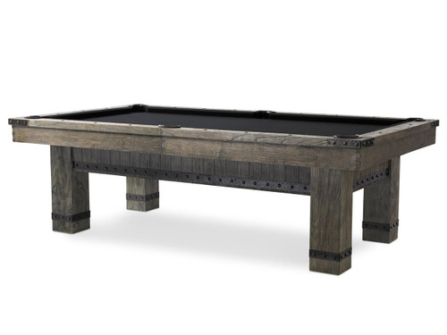 Plank and Hide Morse Pool Table - View 4