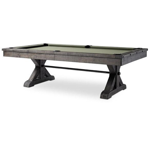 8 Foot Otis Pool table by Plank and Hide