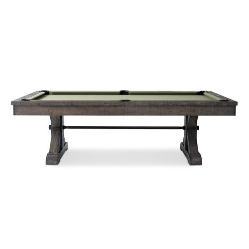 Plank and Hide Otis Wood Pool Table - View 2