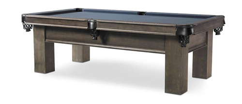 7 or 8 Foot Plank and Hide Parson Pool Table - View 1