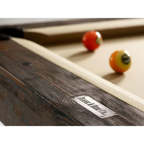 Plank and Hide Thomas Pool Table - View 2