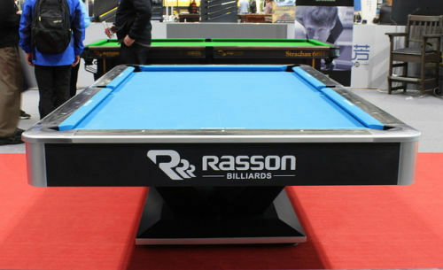 Tournament Size Rasson Commercial Pool Table Full view 3