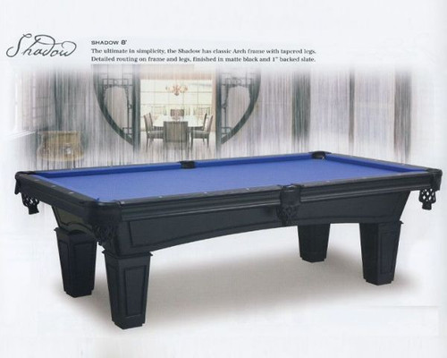 7 to 8 Foot Shadow Pool Table