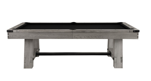 8 Foot Playcraft Yukon River Slate Grey Finish Pool Table