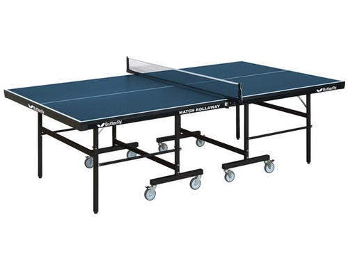 Butterfly Match 22 Rollaway Ping Pong Table - View 1