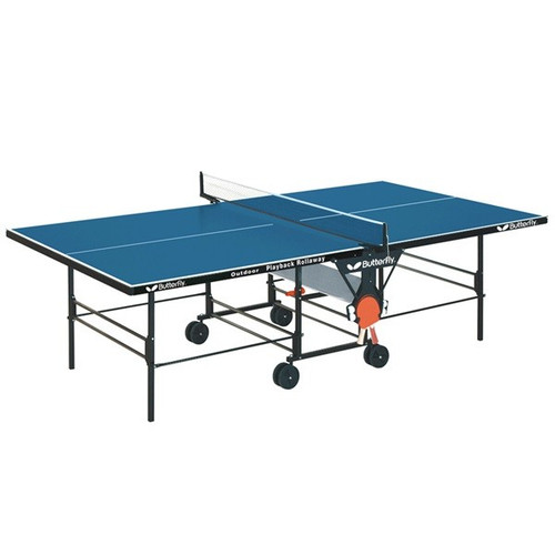 Butterfly Playback Rollaway Ping Pong Table - view 1