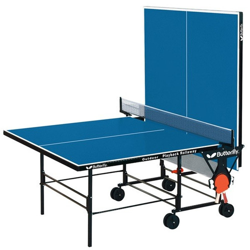 Butterfly Playback Rollaway Ping Pong Table - view 2