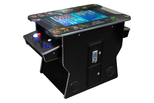 cocktail arcade with trackball 412 games in 1