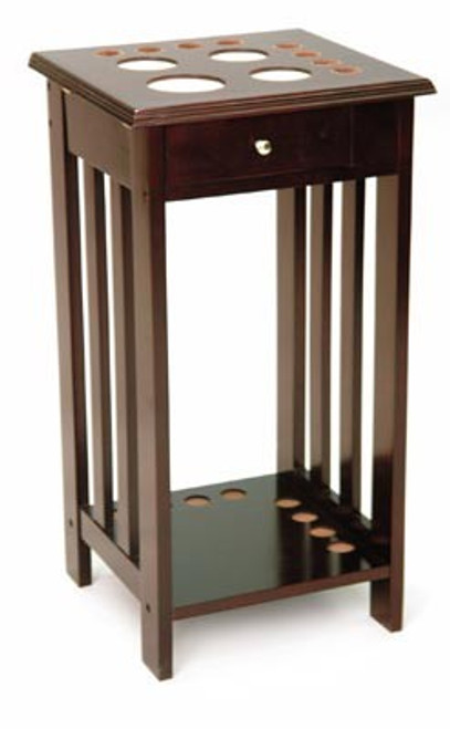 Square Floor Pool Cue Stand - Thumbnail 2