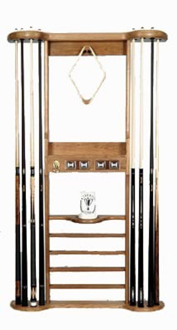 Wall Cue Pool Rack