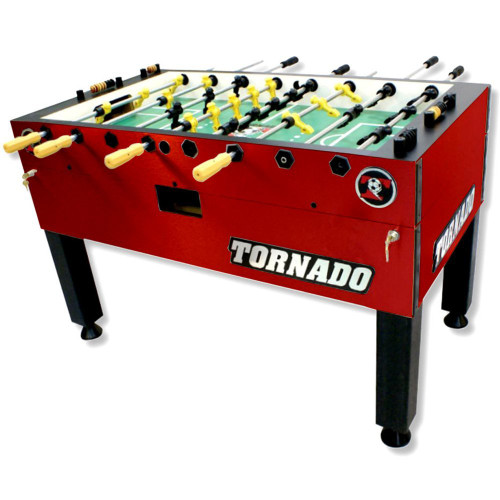 Tornado Tournament T3000 Red Foosball Table - view 1