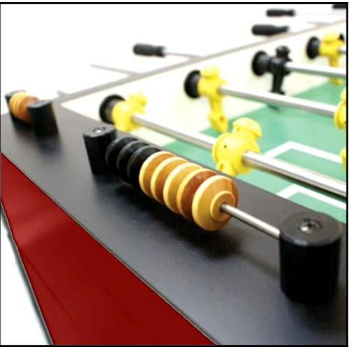 Tornado Tournament T3000 Red Foosball Table - view 2