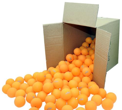 KETTLER 1-Star Orange Training Table tennis balls  144 PACK Thumbnail