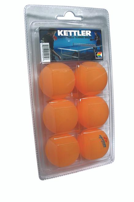 Kettler Ping Pong Balls For Sale, 3Star, Pkg of 6 - view 2