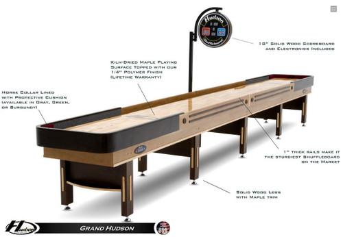 9 to 22 Foot Grand Hudson Shuffleboard - view 1