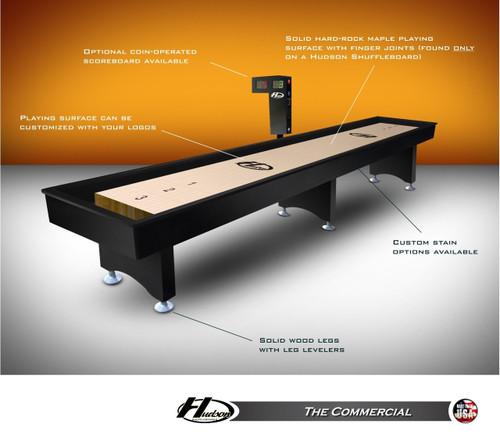 Hudson Shuffleboard Table