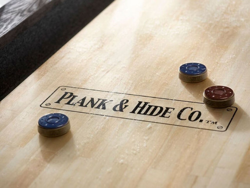 Plank and Hide Gaston Shuffleboard Table - Thumbnail 2
