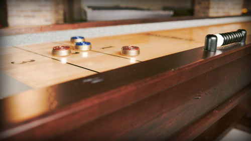 12 or 14 Ft Paxton Shuffleboard Table - view 2