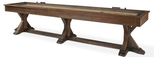 Plank and Hide Thomas Shuffleboard Table - Thumbnail 2
