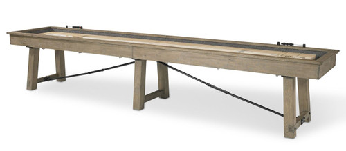 Plank and Hide Isaac Shuffleboard Table - view 2