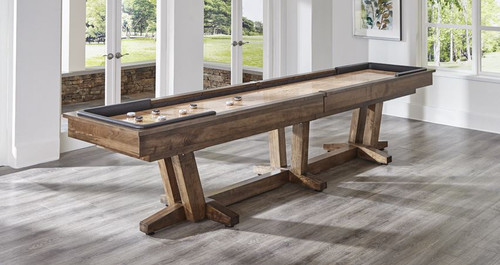 California House Petaluma Shuffleboard Table