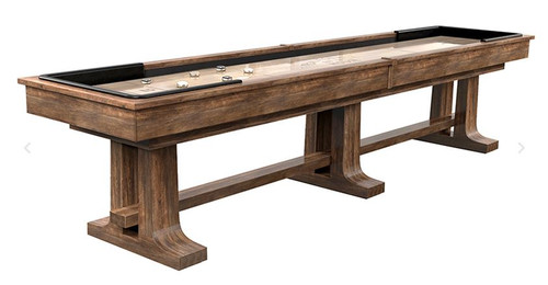9 ft to 18 ft California House Atherton Shuffleboard Table