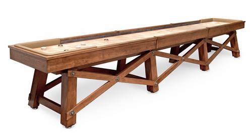 California House Loft Shuffleboard Table - view 1