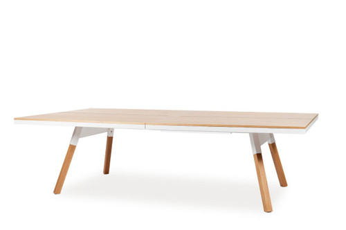 RS Barcelona Standard You and Me OAK Ping Pong Table