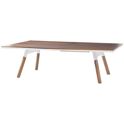 RS Barcelona You and Me Walnut Ping Pong Table – Standard