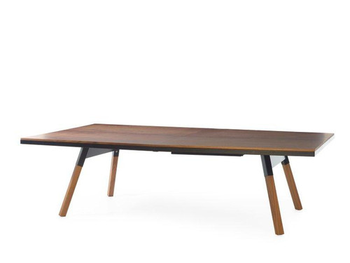 Standard You and Me Walnut Ping Pong Table - Thumbnail 2