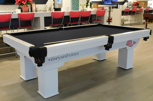 7 to 9 Ft Caesar R&R Outdoor Pool Tables - Thumbnail 1
