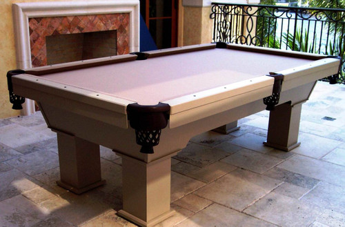 7 to 9 Ft Caesar R&R Outdoor Pool Tables - Thumbnail 2