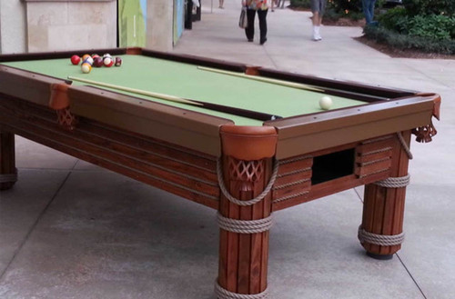 7 to 9 Foot Caribbean - R&R Outdoors Pool Table - Thumbnail 1