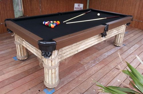 7 to 9 Foot Caribbean - R&R Outdoors Pool Table - Thumbnail 2