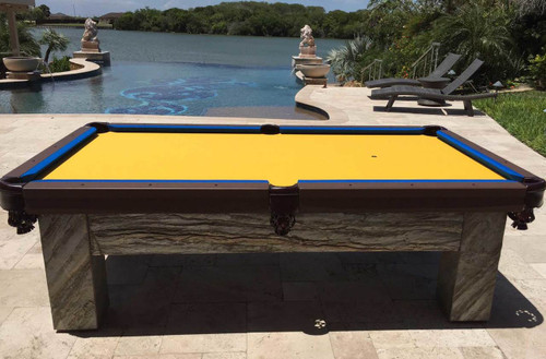 R&R Outdoors Artisan Pool Table