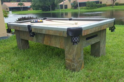 7 to 9 Foot Artisan - R&R Outdoors Pool Table - Thumbnail 2