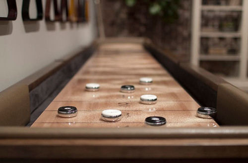 California House Origami Shuffleboard Table. Available in 9′, 12′, 14′, 16′, and 18′ sizes - Thumbnail 2
