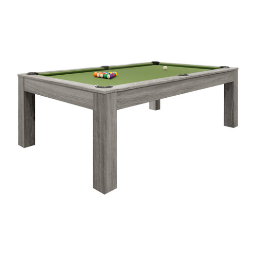 Penelope Silver Mist (II) 7 foot or 8 foot Pool Table with Dining Top - Thumbnail 1