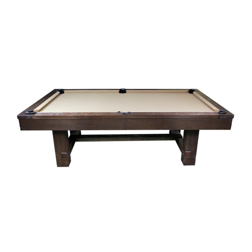 Imperial 7 or 8 Ft Pool Table Weather Dark Chesnut -  Thumbnail 1