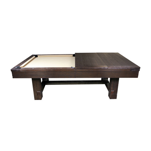 Imperial 7 or 8 Ft Pool Table Weather Dark Chesnut -  Thumbnail 2