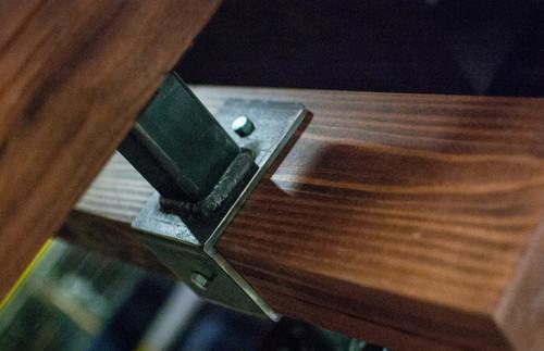 Kush Rustic Shuffleboard Table