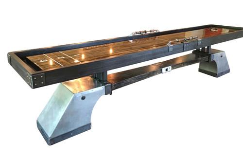 KUSH Nine Pin Shuffleboard Table - Thumbnail 2