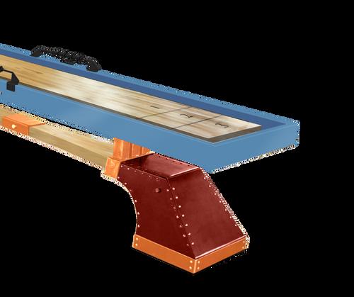 KUSH Maxwell Shuffleboard Table with Accessories - Thumbnail 1
