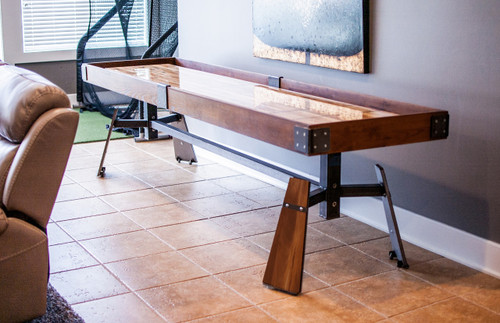 KUSH ARIE Shuffleboard Table with Accessories - Thumbnail 2