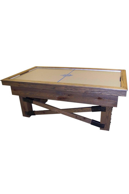 DYNAMO 7 foot Rustic Air Hockey Table - Thumbnail 1