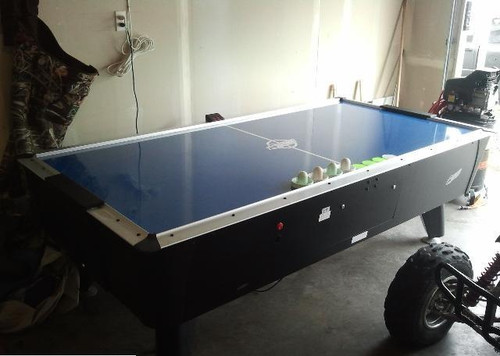 Dynamo 8Ft Pro Style Home Air Hockey Table - Thumbnail 2